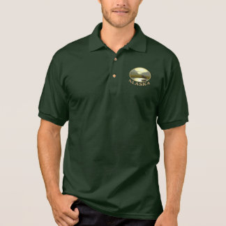Afternoon Moose Polo Shirt