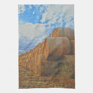 Afternoon Stock Kitchen Towel Western Ranch Life