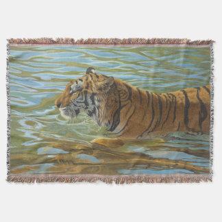 Afternoon Swim - Throw Blanket