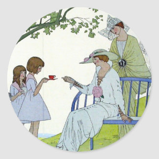 Afternoon Tea 1913 Classic Round Sticker