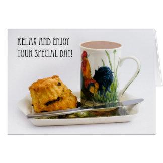 Afternoon Tea Birthday Greeting Card