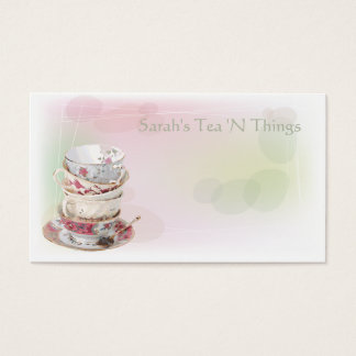 Afternoon Tea Business Card