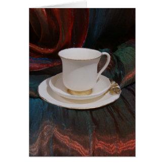 Afternoon Tea Cards, Afternoon Tea Greeting Cards, Afternoon Tea
