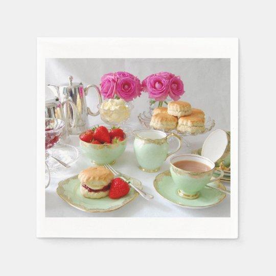 Afternoon Tea Paper Napkins