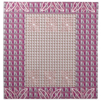 Afternoon Tea Pinks Motiff American MoJo Napkins