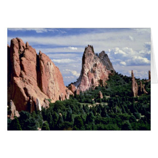 Afternoon with Gods, Garden of Gods, Colorado Card