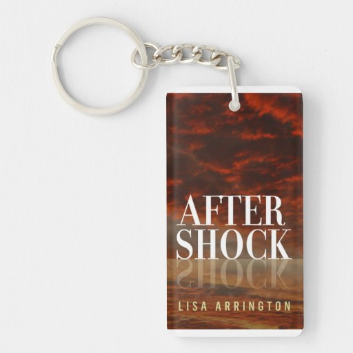 AfterShock Book Cover Keychain Acrylic Key Chains