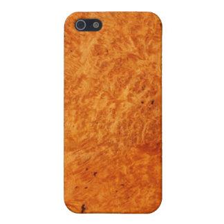 Afzelia wood look Finish iPhone 5c Case