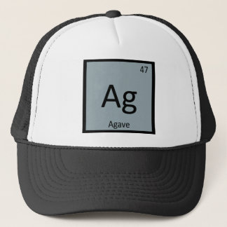 Ag - Agave Nectar Chemistry Periodic Table Symbol Trucker Hat