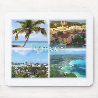AG Antigua - Hugo Tree - Saint Johns - Mouse Pad