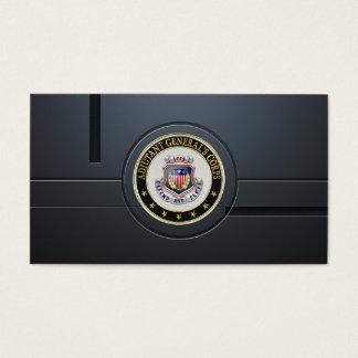 AG Corps Regimental Insignia [3D] Business Card