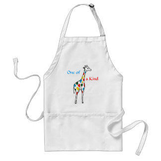 AG- One of a Kind Giraffe Apron