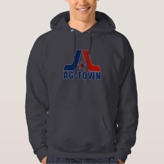 Ag-Town Faded Dark Sweatshirt Clean Logo