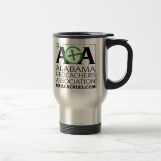 AGA Alabama Geocachers Association Travel Mug