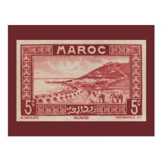 Agadir, Morocco - Postcard