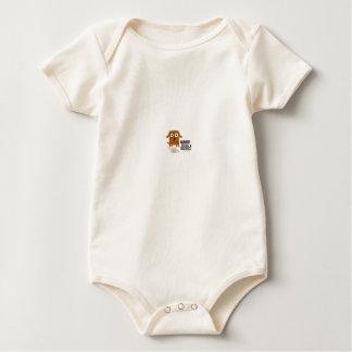 Against Animal Testin Baby Bodysuit