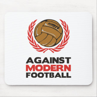 Against Modern Football Mouse Pad