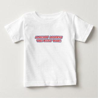 against next war - infant shirts