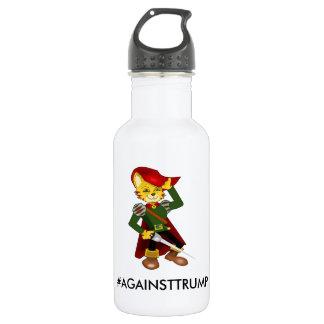 Against Trump Water Bottle