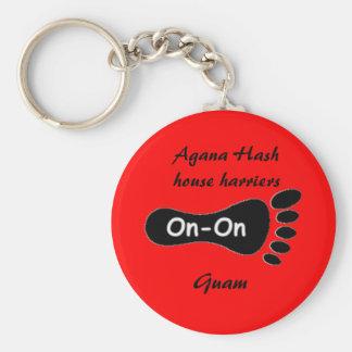 Agana Hash house harriers, Guam Keychain