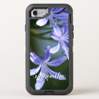 Agapanthus bloom Otterbox phone OtterBox Defender iPhone 7 Case