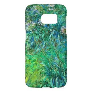 Agapanthus Flowers by Monet Fine Art Samsung Galaxy S7 Case
