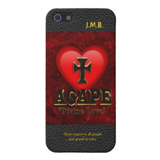 Agape, divine love iPhone 5 covers