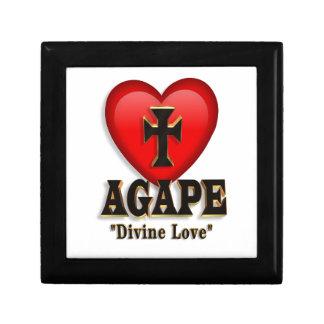 Agape heart gift box