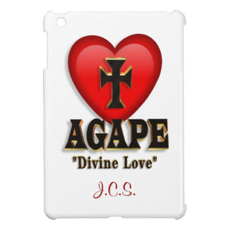 Agape heart symbol for God's divine love Cover For The iPad Mini