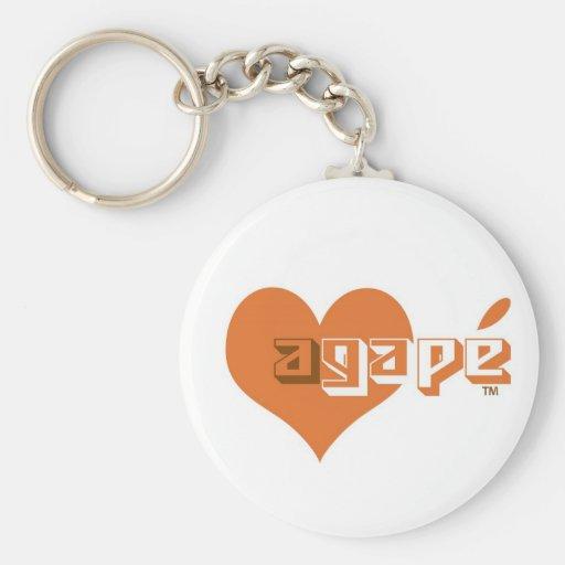 Agape Keychain