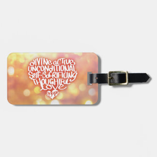 Agape Love Bag Tags