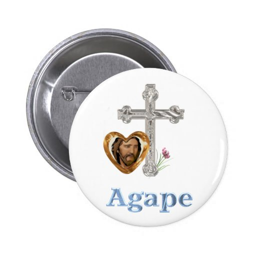 Agape Love Christian gifts Pin