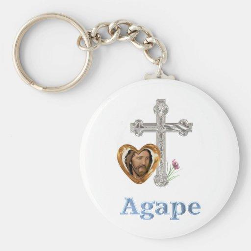 Agape Love Christian gifts Key Chain