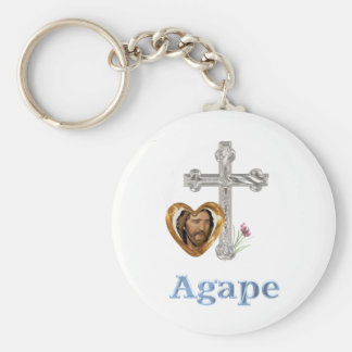 Agape Love Christian gifts Key Chains