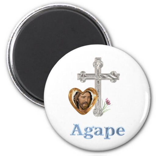 Agape Love Christian gifts Magnets