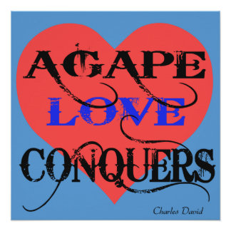 Agape Perfect Poster