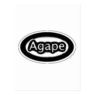 agape postcard