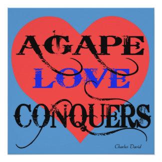 Agape Poster