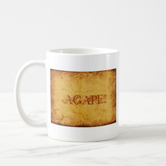 AGAPE!!... RELIGIOUS CUP