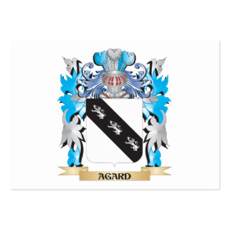 Agard Coat Of Arms Business Card Template