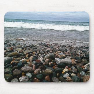 Agate beach 1 mouse pad