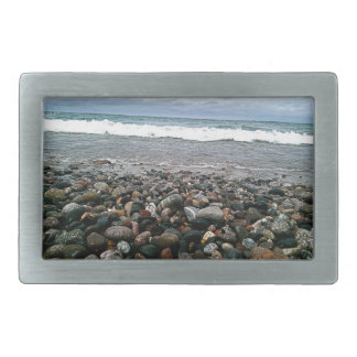 Agate beach 1 rectangular belt buckles