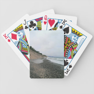 Agate beach 2 bicycle playing cards