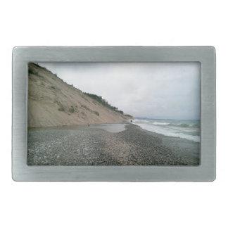 Agate beach 2 rectangular belt buckles