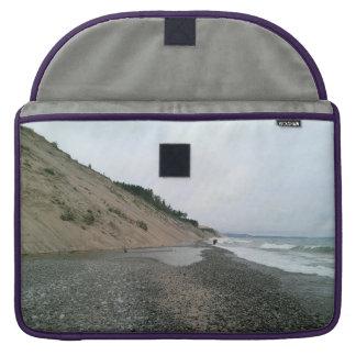 Agate beach sleeve for MacBook pro