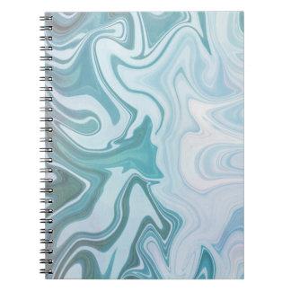 Agate Blue | Spiral Notebook