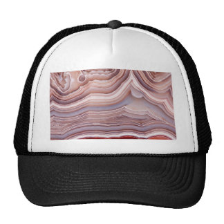 Agate crystal trucker hat