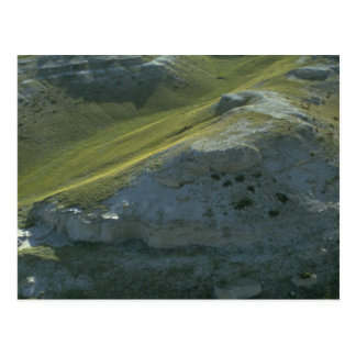 agate fossil beds national park green postcard
