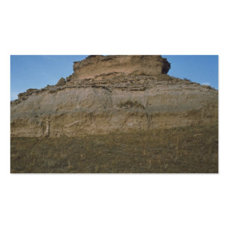 agate fossil beds national park rock mound business card