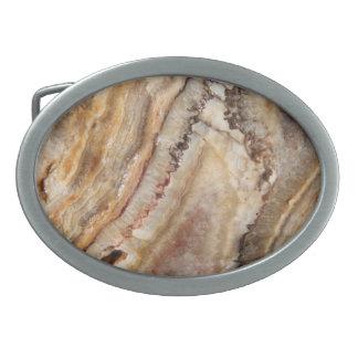 Agate gemstone, marble stone belt buckle